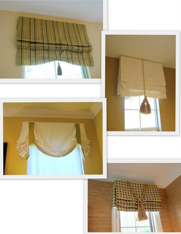 Window treatments to bring the sun to you!