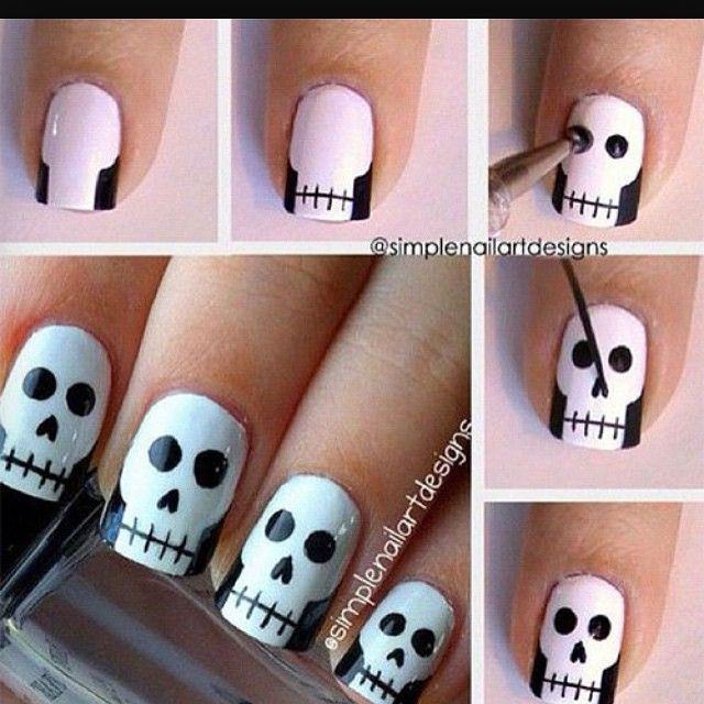 64 best nail art images on pinterest nail scissors nail art simple nail art tutorial step by step prinsesfo Image collections