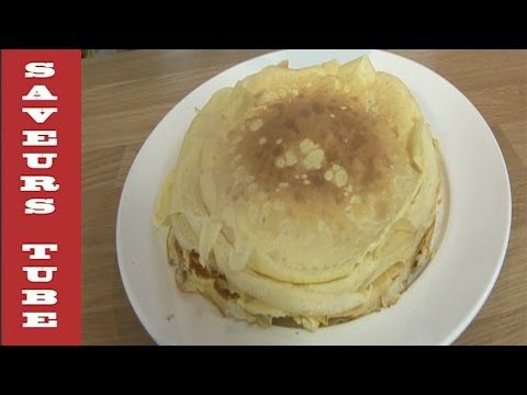French Crepe very easy to make with TV Chef Julien from Saveurs Dartmouth U.K, - YouTube