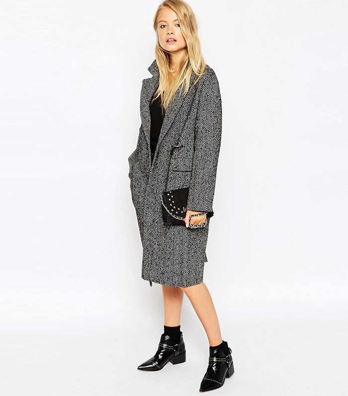 The Zara Coat That Sold Out Insanely Fast via @WhoWhatWear