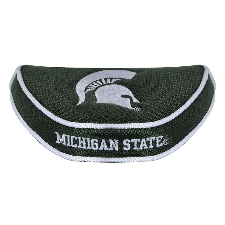 Team Effort Michigan State Spartans Mallet Putter Cover, Multicolor