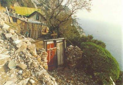 Ermita del mont Athos, a la regió de Karoulia