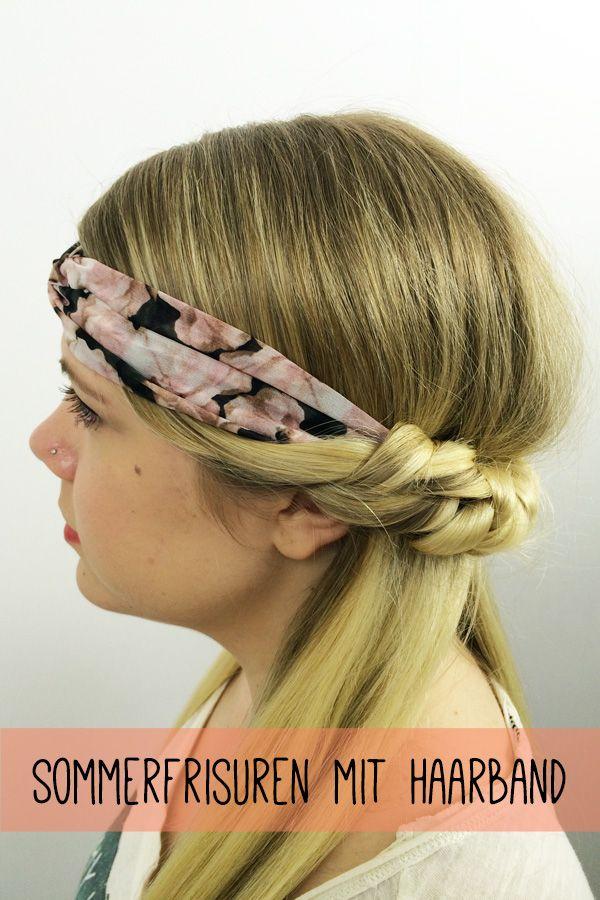 Step by Step zur kreativen Sommerfrisur mit Haarband