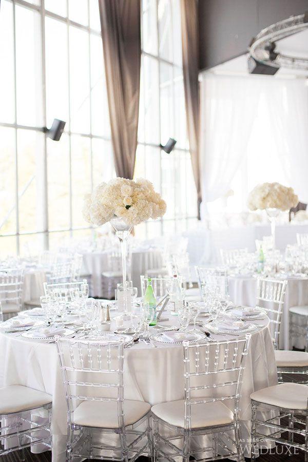 Toronto Wedding in White & Mint   WedLuxe Magazine