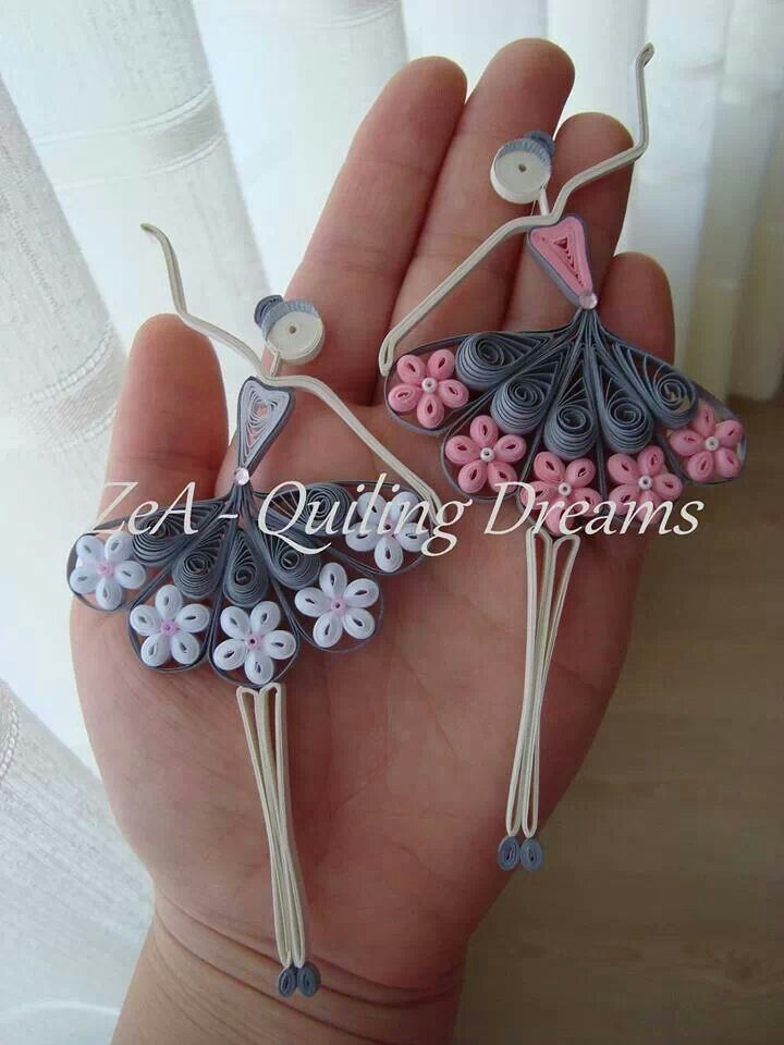 Little dancers for the litle dancer in your life...: