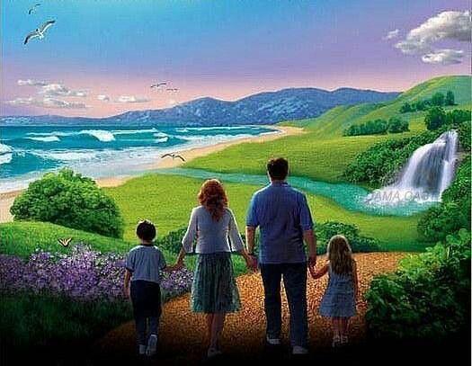 """Voici - Voici à quoi ressemblerait le """"Monde à venir"""" après le Retour de Jésus 374578dab5f0a37eddd416f080b93f44"""