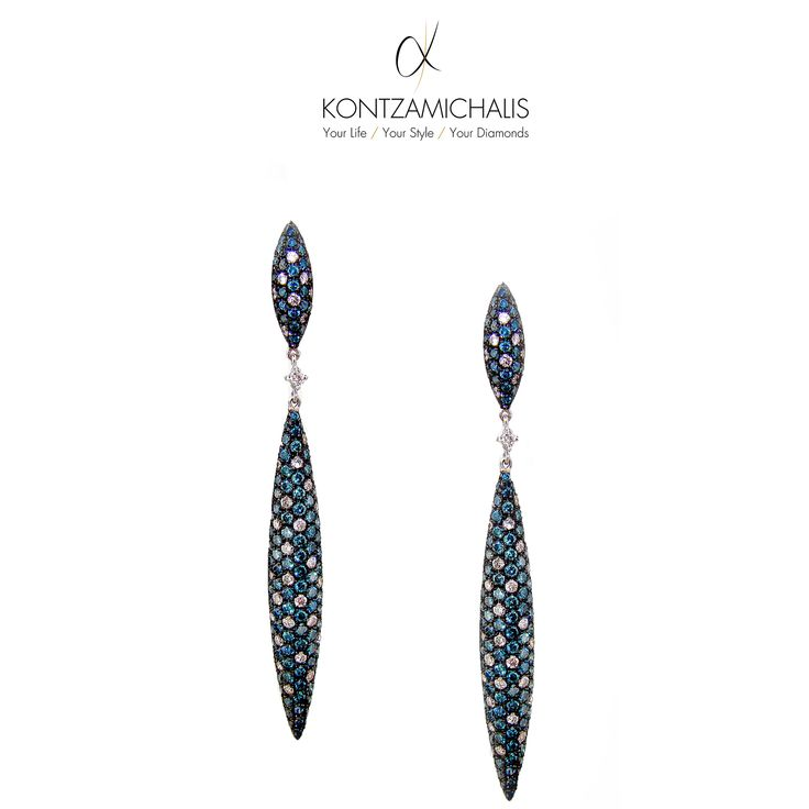 After countless hours of working on these earrings, the result is absolutely satisfying. Even the simplest lines are more than enough when they are carefully decorated. #KontzamichalisJewellery  http://kontzamichalis.com/lines-2/