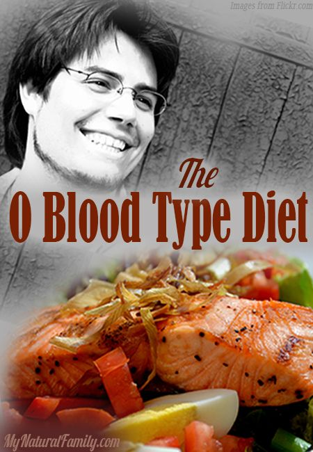 O Blood Type Diet-- Interesting that I'm celiac and actually cannot eat as much grain as recommended.