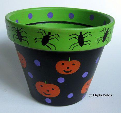 Trick or Treat Candy Pot | FaveCrafts.com
