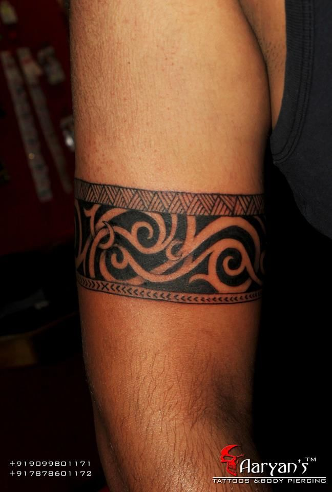 best 20 maori band tattoo ideas on pinterest maori band. Black Bedroom Furniture Sets. Home Design Ideas