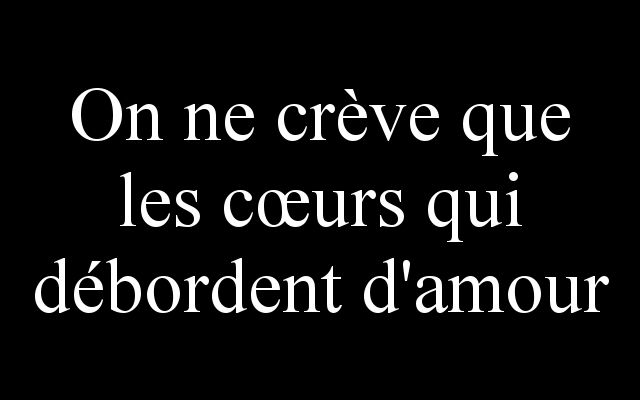 Oh que oui...