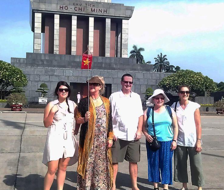 Ho Chi Minh's Mausoleum #HaNoi #VietnamSchoolTours #CityTour