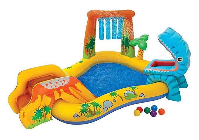 Kids Inflatable Pool Small Kiddie Blow Up Above Ground Swimming Pool Is Great For Kids Children To Have Outdoor Children Swimming Pool Kiddie Pool Kid Pool