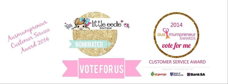 Nominee for the Australia Mumpreneur Awards 2014 in the Customer Service Category