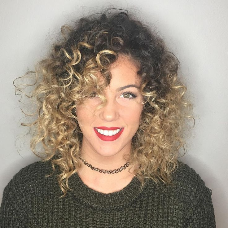 Curl Goals Paired With Aveda Hair Color By Artists At Moda Salon