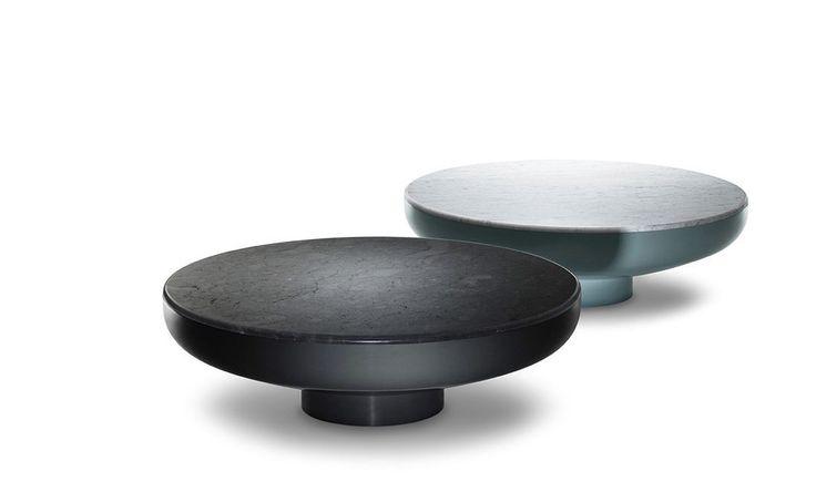 table basse contemporaine en acier laqu en marbre tambor se london table basse. Black Bedroom Furniture Sets. Home Design Ideas