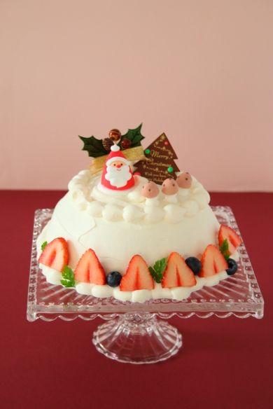 「クリスマスの苺ドームケーキ」marimoさん