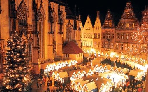 Christmas Market, Muenster Germany