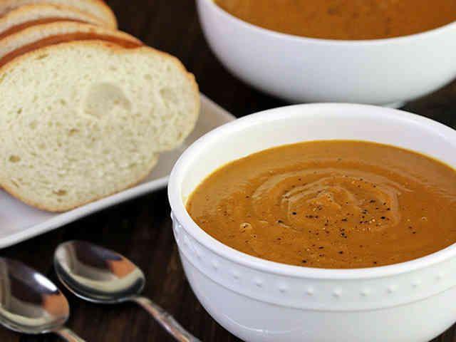 サツマイモスープ(ヴィーガン)