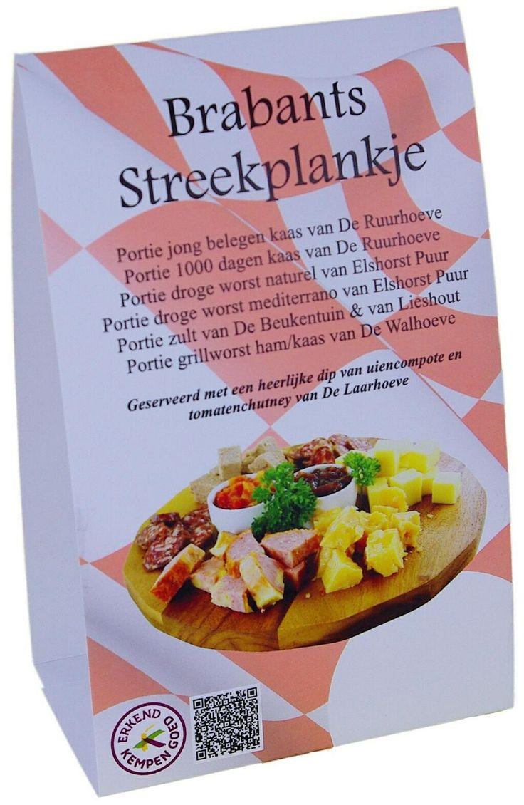 Speciaal ontwikkeld voor de horeca het Brabants streekplankje. In een handomdraai kunt u direct van verschillende Brabantse ondernemers streekproducten serveren. Dit alles wordt ondersteund met tafel- en menukaarten.