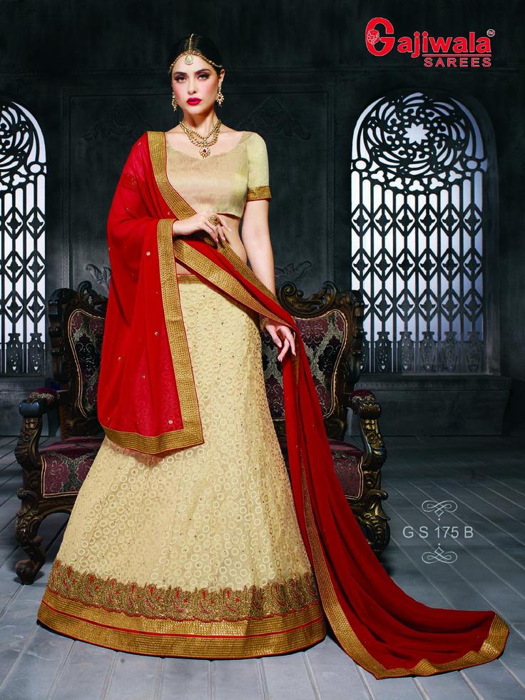 Fancy Rasal net with diamond work with santoon Inner Blouse of Banglory silk Dupatta of chiffon with diamond butti