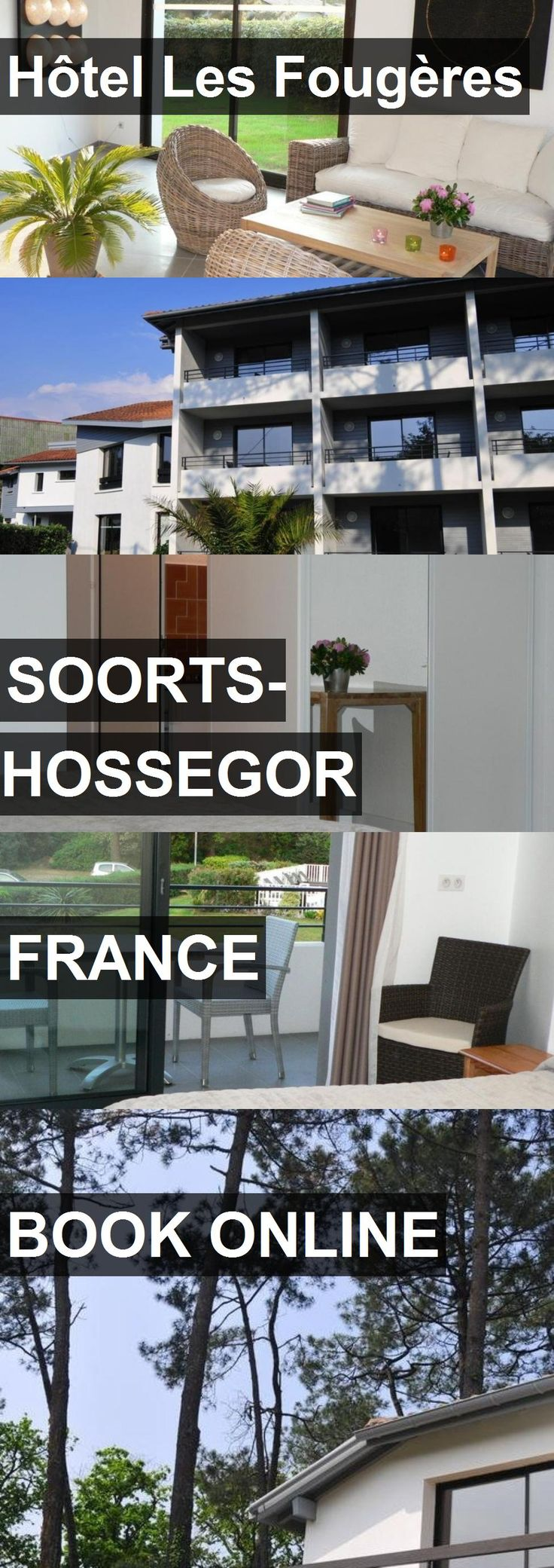 Hotel Hôtel Les Fougères in Soorts-Hossegor, France. For more information, photos, reviews and best prices please follow the link. #France #Soorts-Hossegor #HôtelLesFougères #hotel #travel #vacation