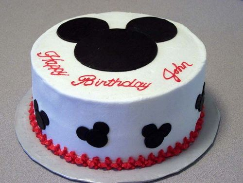 Mickey Mouse Birthday Cakes | Cheeseca.com