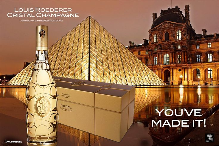 Louis Roederer Cristal Champagne – This artwork is not endorsed by Louis Roederer, this is purely my own creation.