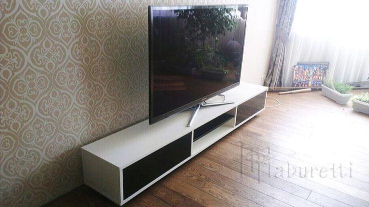 Наши работы: Подставка под телевизор http://taburetti.kiev.ua/komody-i-tualetnye-stoliki/podstavka-pod-televizor/ #комод #подставкаподтв
