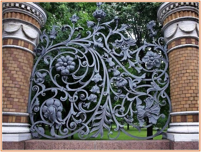 Exotic Wrought Iron Fence Cost