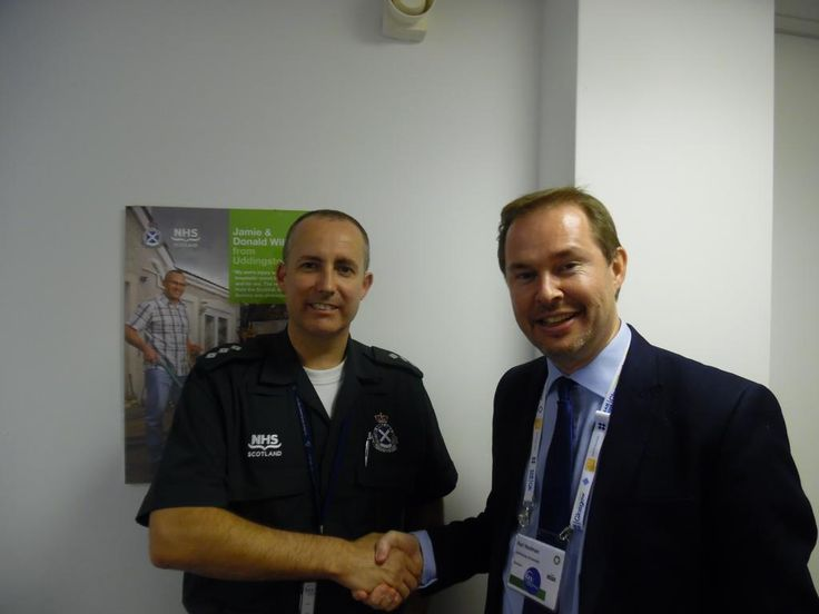 Thank you Gary Rutherford at the Scottish Ambulance Academy, Glasgow Caledonian University