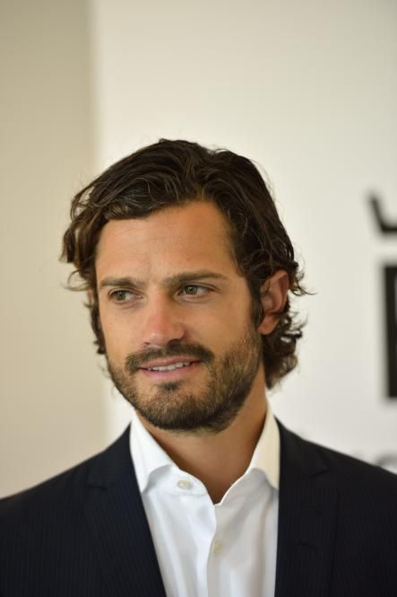 Prince Carl Philip of Sweden ~ graphic designer and race car driving royal...wow.