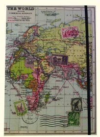 Travel the World Journal A5