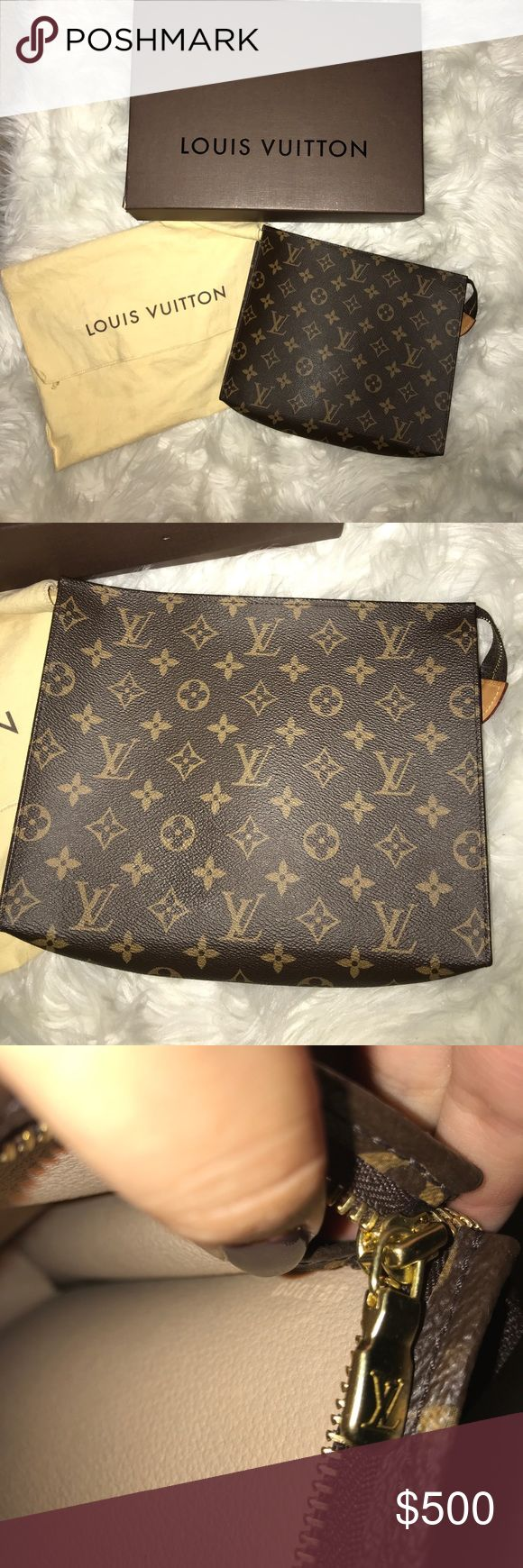 Authentic Louis Vuitton Toiletry 26 Size 26. Great condition. Authentic! Currently sold out online and in most stores. Comes with dust bag and box. Louis Vuitton Bags