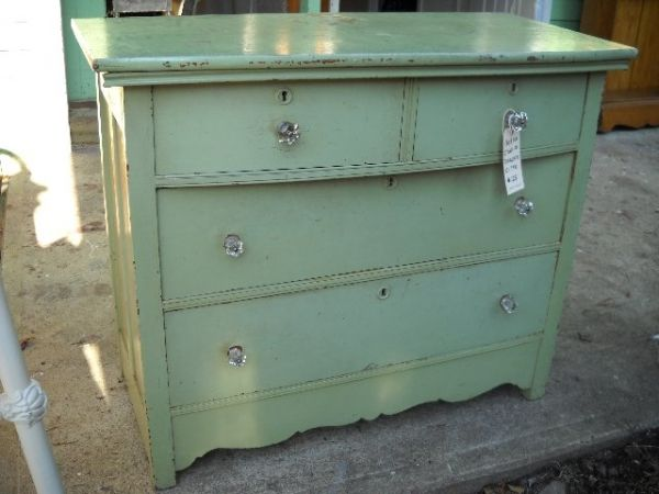 Great Oak Bow Front Chest Of Drawers From The Late Or Early 33 Inches Tall  By 40 Inches Wide By 20 Inches DeepHas Glass Knobs That Look