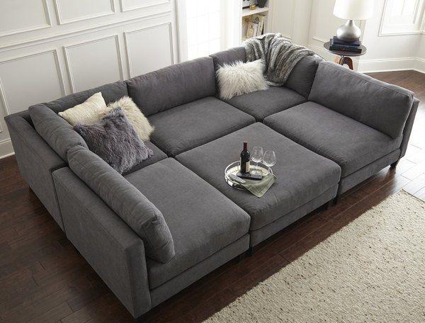 10 Undeniably Fun Media Room Ideas Hunker Sofa Design Modular