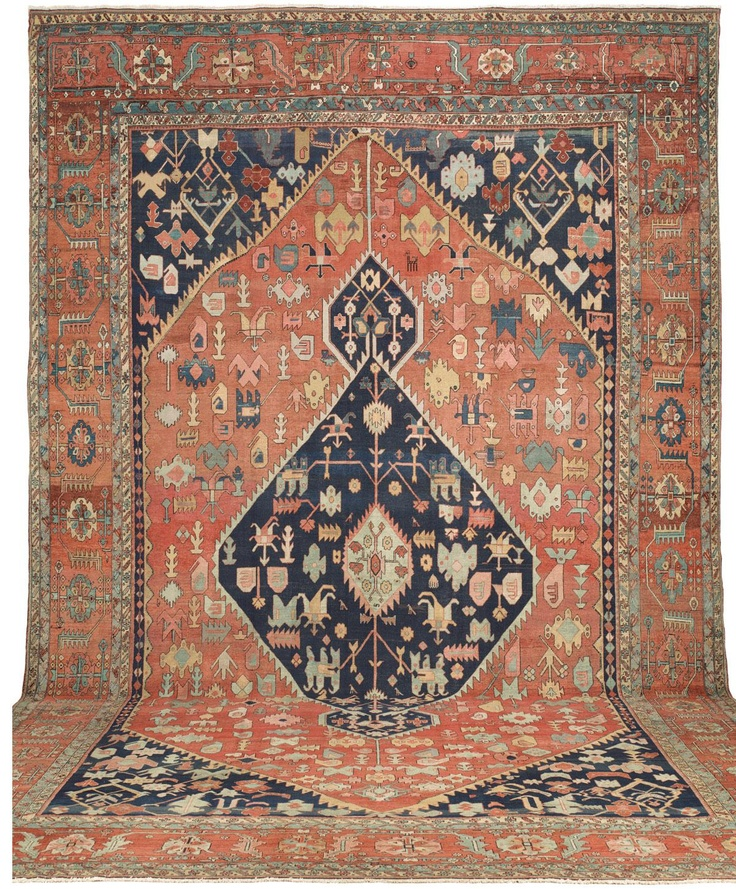 Serapi, 14ft 8in X 20ft 11in, 3rd Quarter, 19th Century. Our Wide
