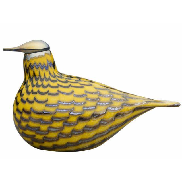 Iittala Birds by Toikka, Yellow grouse, 215x130 mm