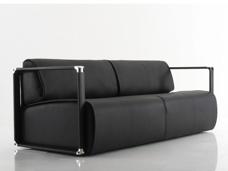 Leather Sofa WRAP Wrap Collection By YOMEI | Design André Schelbach
