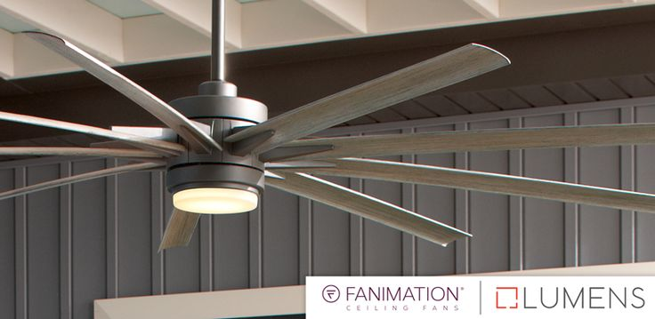 Lumens Guest Blog – Why Choose a Large Ceiling Fan? | Fanimation