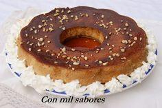 Con mil sabores: PUDIN DE TURRÓN. ESPECIAL NAVIDAD