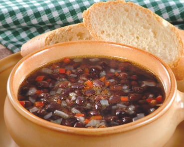 Sopa de caraotas negras - Supermaxi