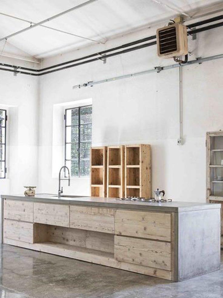 17 migliori idee su legno cemento su pinterest mobili in for Design di mobili in legno italiano