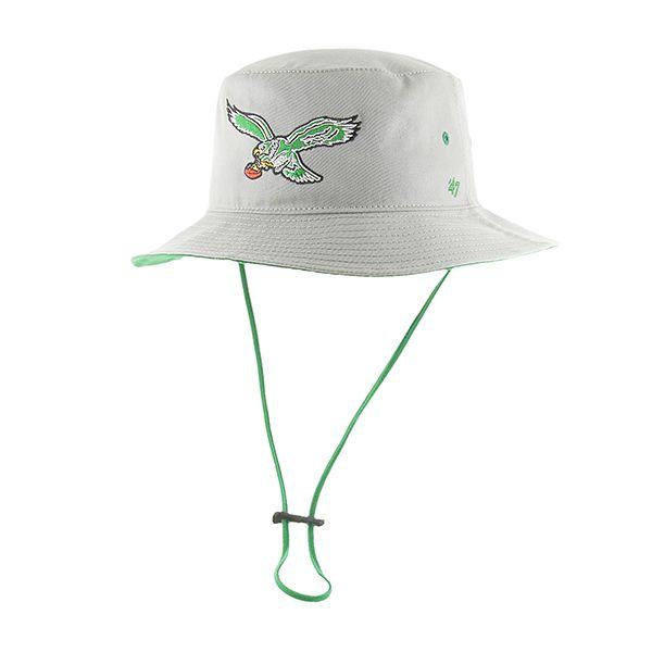 12df912b0bb Philadelphia Eagles Kirby Bucket Gray 47 Brand Hat