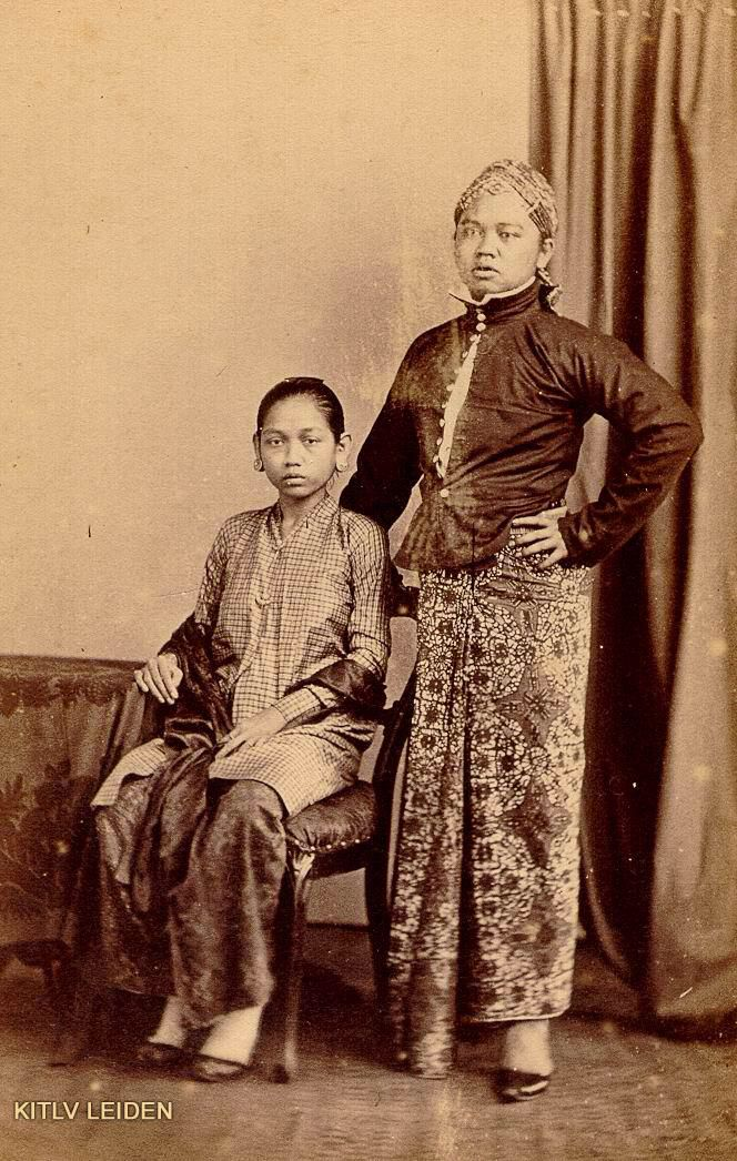 Javanese couple, maybe some royals