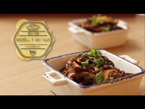 Como Hidratar Cogumelos Secos (Funghi Secchi) - Shitake, Shimeji, Paris   Técnica Culinária - YouTube