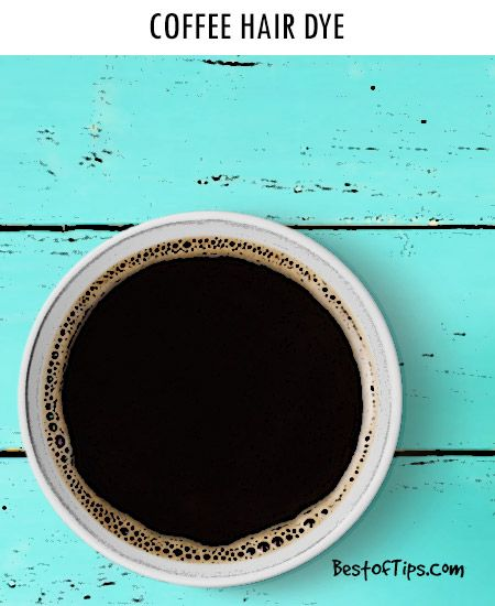 HOW TO DYE HAIR WITH COFFEE