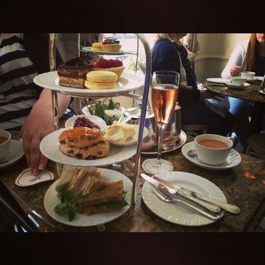 High Tea @ Bettys Cafe, York,  UK