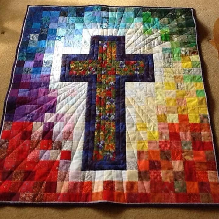 Beautiful Easter (or whenever) quilt!!
