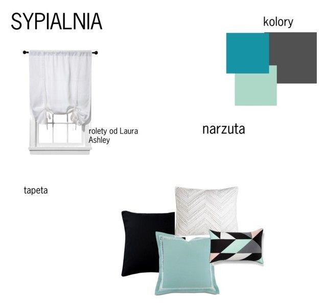 sypialnia by magdalena-grycz on Polyvore featuring interior, interiors, interior design, dom, home decor, interior decorating, Barclay Butera, C & F, Fogarty and Room Essentials